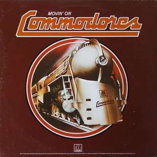 The Commodores Movin On