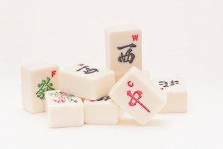 Mahjong pieces